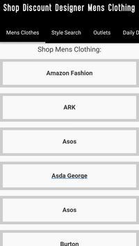 Mens Clothes Shopping +Fashion screenshot 21