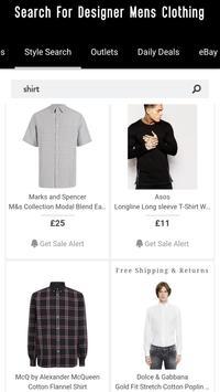Mens Clothes Shopping +Fashion screenshot 2