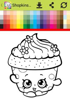 Coloring Book For Shopkins Apk Screenshot