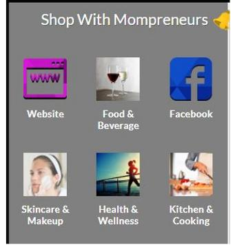 Shop With Mompreneurs poster