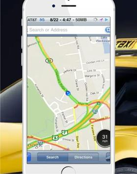 Uda Cab screenshot 1