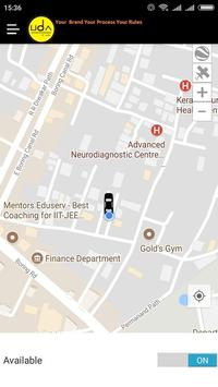 Uda Cab screenshot 2