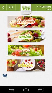 Mi Dieta SMAE screenshot 2