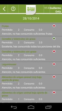 Mi Dieta SMAE screenshot 4