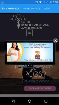 SMV Ayurveda poster