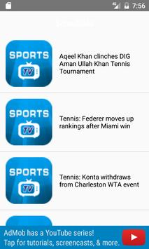 Sports Live News $ Updates apk screenshot