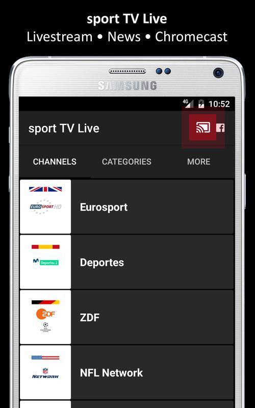 sport TV Live - Television apk screenshot