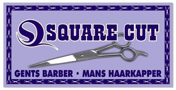 Squarecut poster