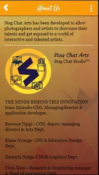 Stag Chat Arts screenshot 4