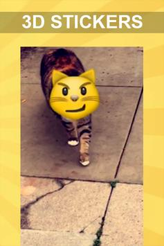 Guide 3D Stickers for Snapchat poster Guide 3D Stickers for Snapchat apk  screenshot ...