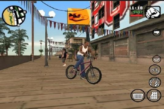 Cheats for grand theft auto: San Andreas screenshot 1