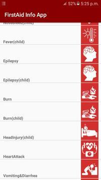 FirstAid Info App apk screenshot
