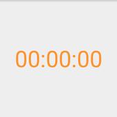 ikon デジタル時計(24時間)