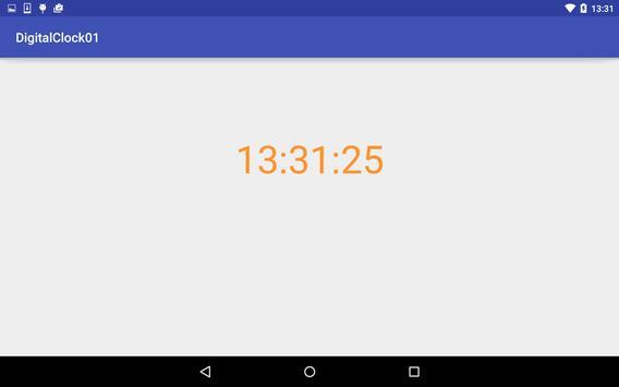 デジタル時計(24時間) screenshot 1