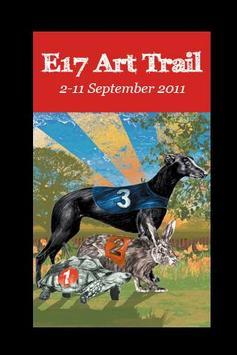 E17 Art Trail 2011 poster