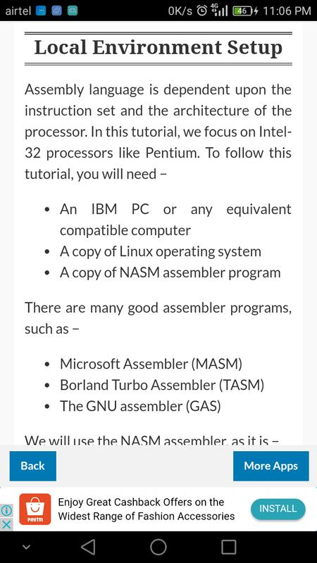 why learn assembly language However, machine language is too obscure and complex for using in software development so, the low-level assembly language is designed for a specific family of processors that represents various instructions in symbolic code and a more understandable form.
