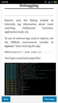 ExpressJS Tutorial screenshot 2