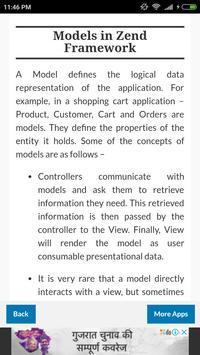 Zend Framework screenshot 3