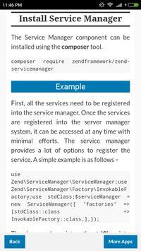 Zend Framework screenshot 1