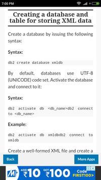 DB2 Tutorial screenshot 2