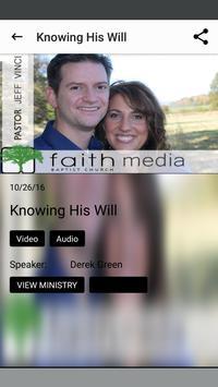 Faith Baptist Church apk screenshot