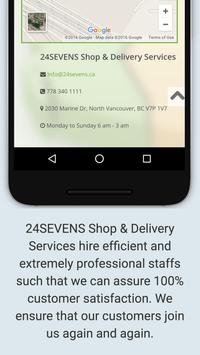 24-Sevens Shop and Delivery poster