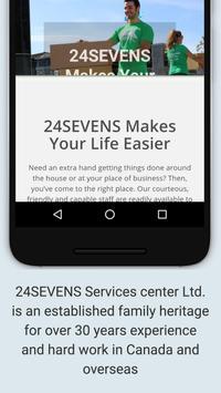 24-Sevens Shop and Delivery apk screenshot
