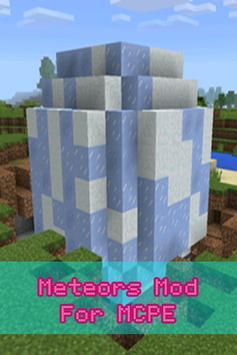 Meteors Mod For MCPE screenshot 1