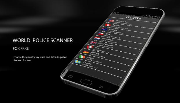 Police Scanner & Radio 2017 poster