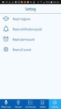 Voice Recorder & Voice Changer with effects apk screenshot