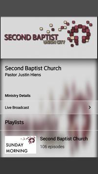 Second Baptist Church screenshot 1