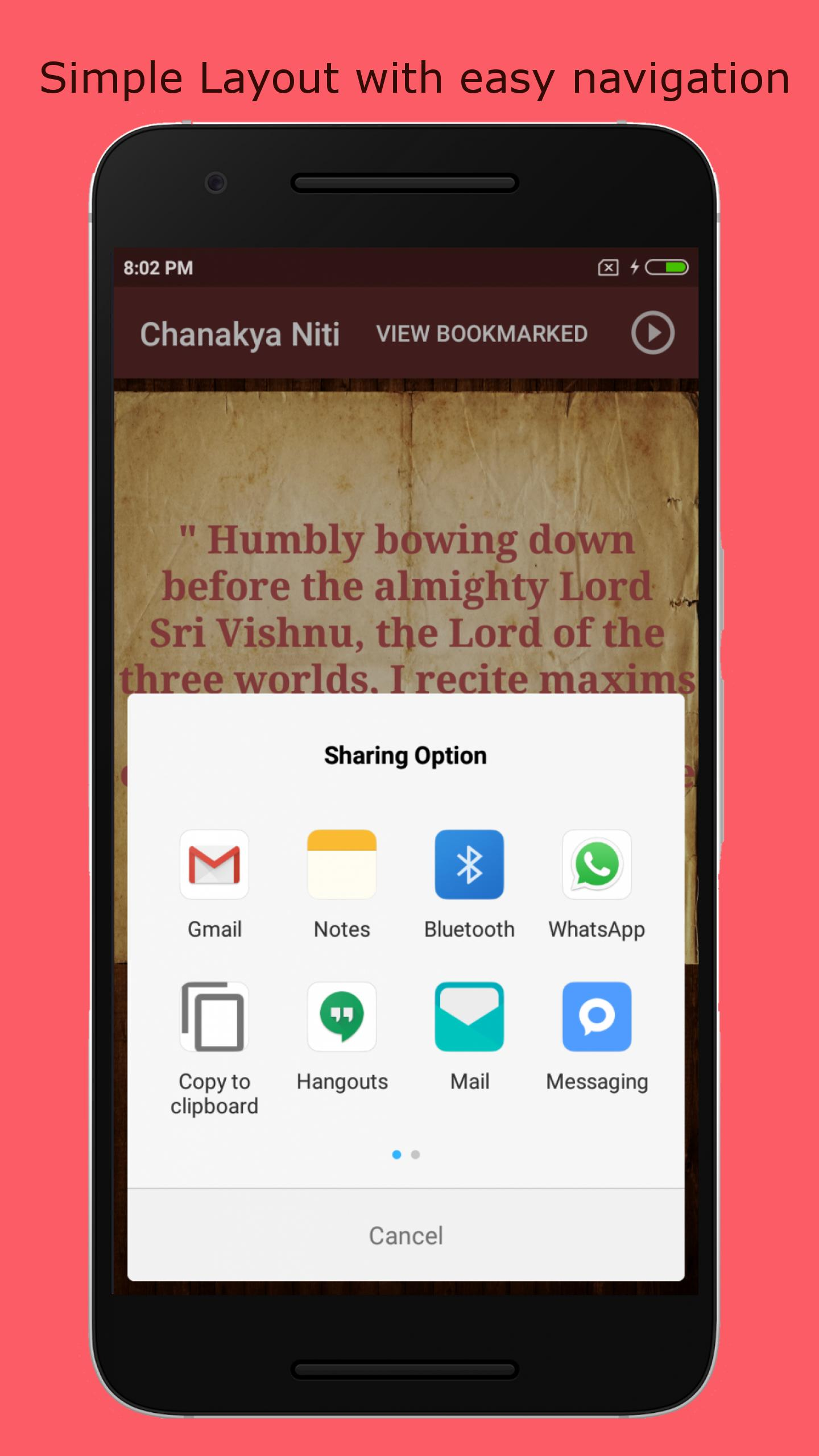 Chanakya Chant - Success Mantra, Quotes, Niti for Android