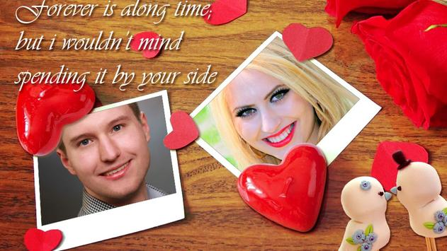 Romantic Love Photo Frames poster