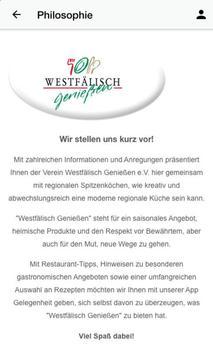 Westfälisch Genießen screenshot 5