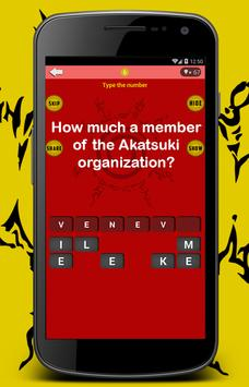 Quiz Naruto Game-100 Quiestion apk screenshot