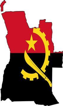 Angola Flag poster