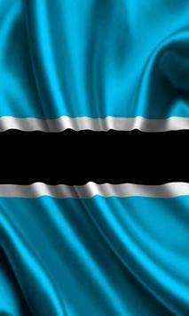 Botswana Flag apk screenshot