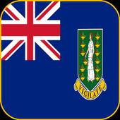 British Virgin Islands Flag icon
