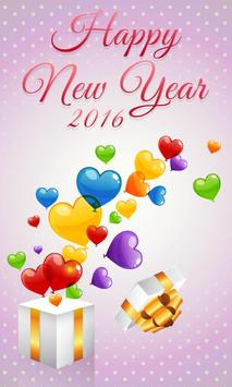 New Year 2016 poster