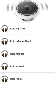 Palestine Radio poster