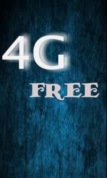 تعبئة 4G مجانا-prank poster