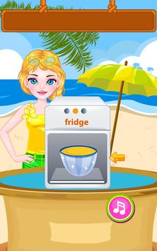 Cream Smoothie Maker -Kid Game screenshot 8