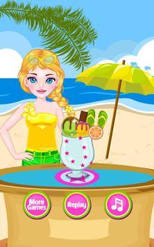 Cream Smoothie Maker -Kid Game screenshot 14