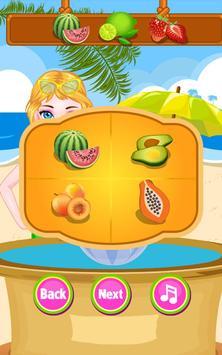 Cream Smoothie Maker -Kid Game screenshot 1