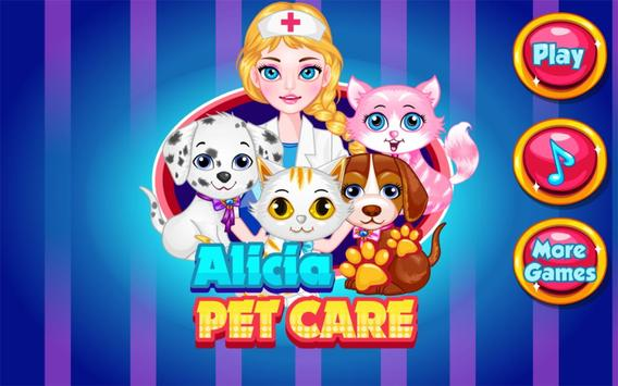 Pets Care - Kids Game poster