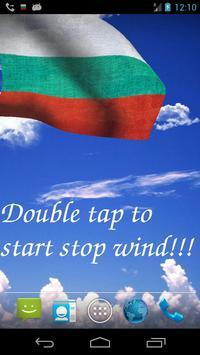 3D Bulgaria Flag LWP poster