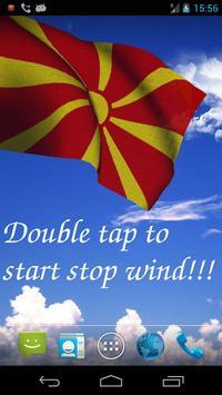 3D Macedonia Flag LWP poster