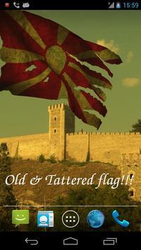 3D Macedonia Flag LWP apk screenshot