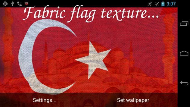 3D Turkey Flag Live Wallpaper Apk Screenshot