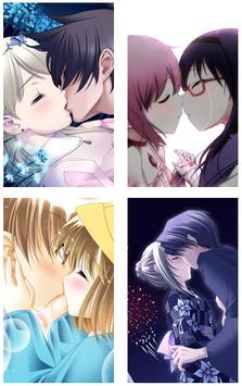 Anime Kiss Wallpaper APK Bildschirmaufnahme